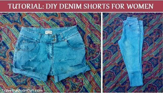 diy-denim-shorts-for-women