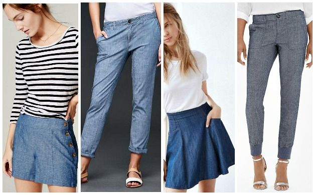how-to-wear-chambray-clothing