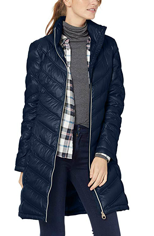 CIOR Womens Packable Down Jacket Ultra Light Weight Short Puffer Coat with Travel Bag