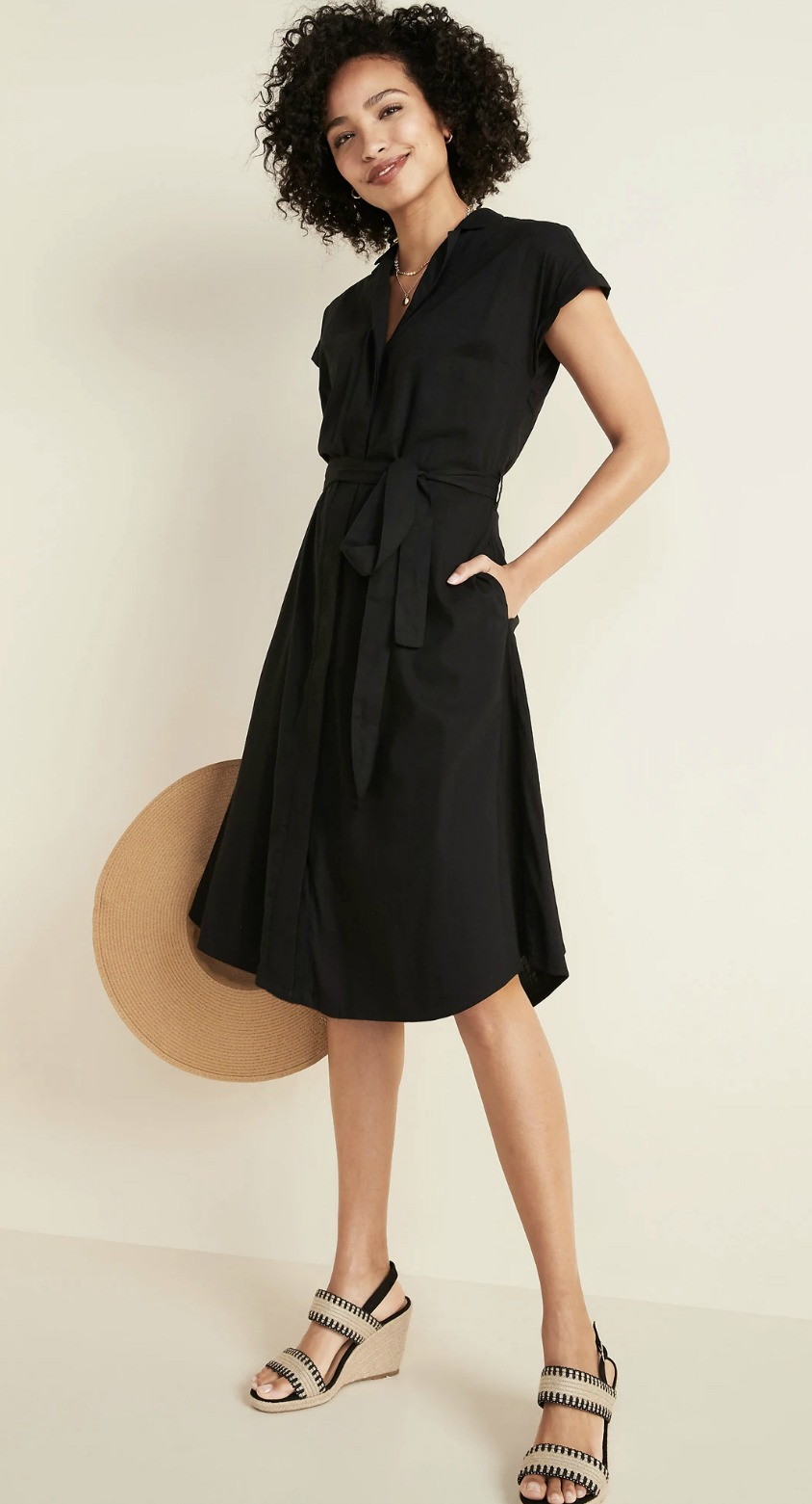 black-travel-dress