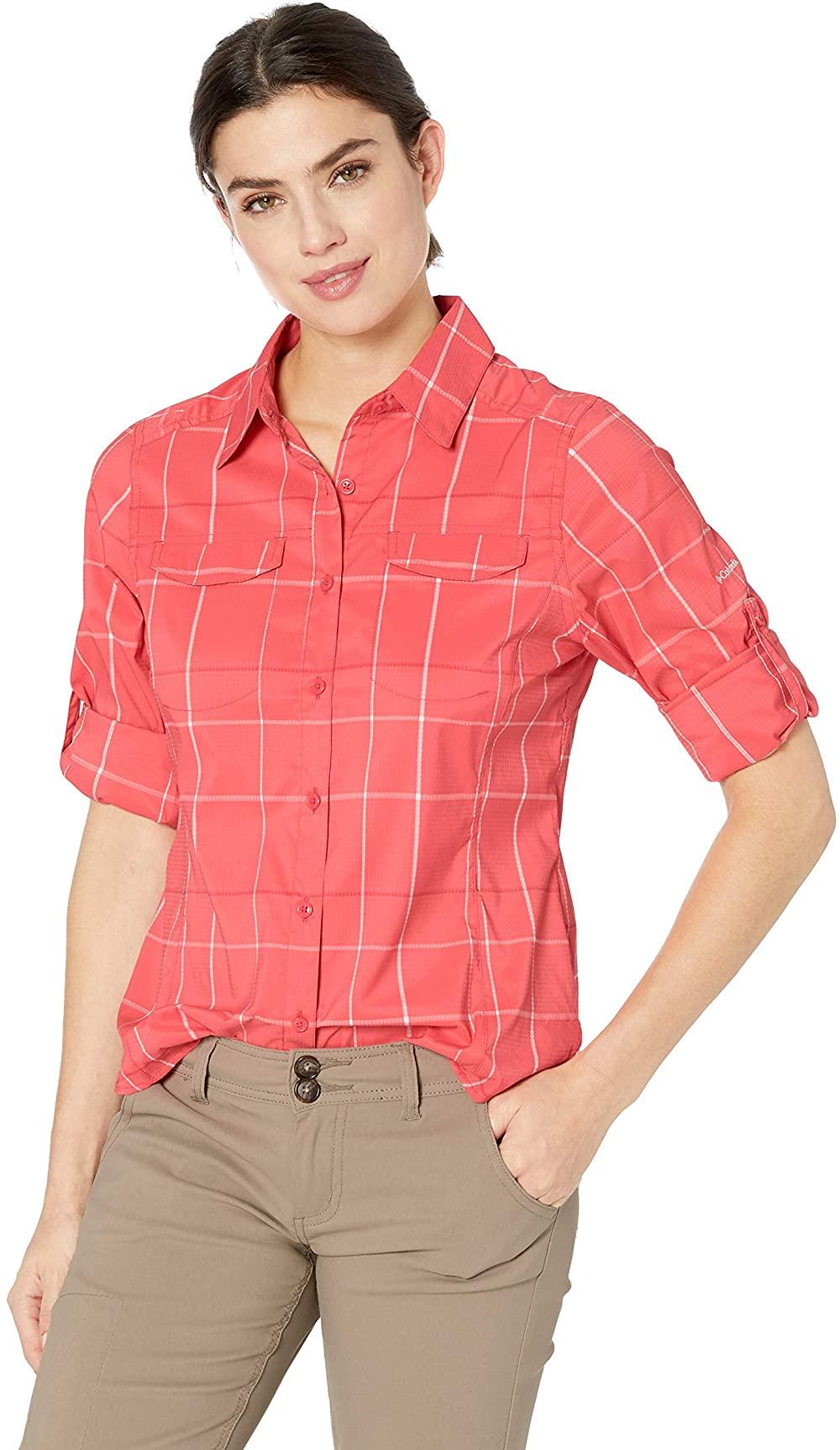 妇女徒步旅行衬衫