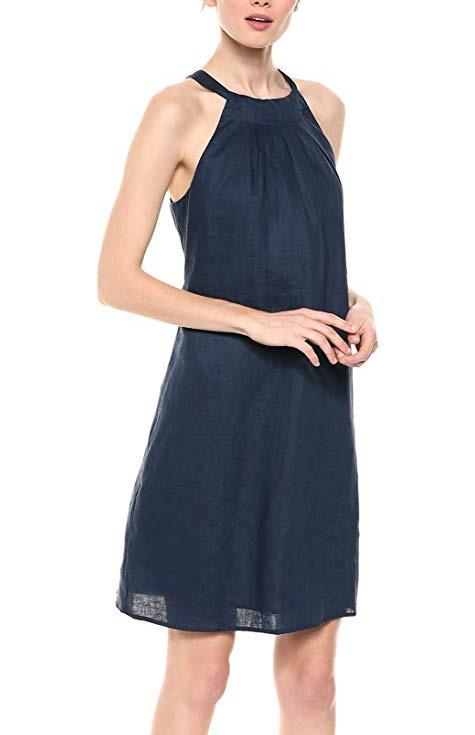 linen-dress