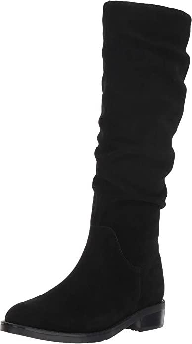 blondo-knee-high-black-suede-boots