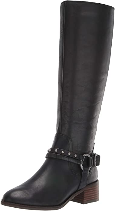 lucky-brand-black-long-boots