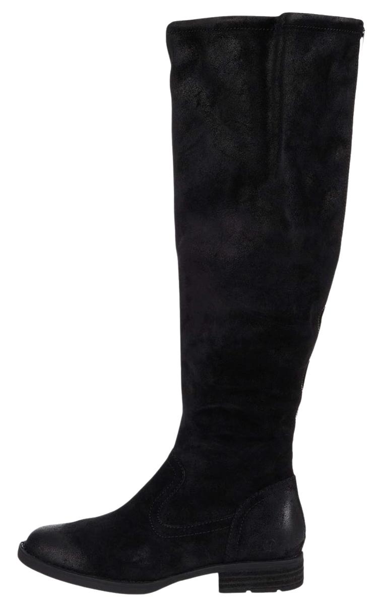 UGG-black-knee-high-heels